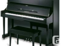 "Yamaha U1 Professional Studio Upright 48"". 6 Months Old"