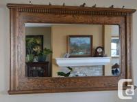 6 Piece Custom Built Solid Oak Bedroom Suite Includes a