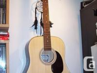 Fairly new Academy D2 acoustic guitar Fully set up