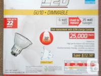 I have 10 brand new LUMINUS MAX LED DIMMABLE GU10 bulbs