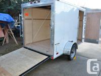 change of plans force sale. Rear ramp, side door.