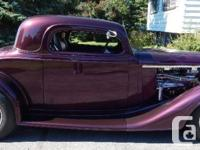 1934 Chevrolet Coupe, Engine: 350, eight Cyl, Automatic
