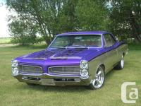 Complete frame off restoration, winner of Calgary and