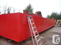 1990 60� x 16� x 6� x ¼� Steel DeckBarge Barge is