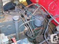 1960 FARGO, FLAT HEAD 6 AND 4-SPEED TRANS. MOTOR HAS