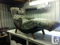Mid to late 60s contour chair. These chairs were