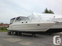 Rinker's Fiesta Vee 342 is outfitted from the factory