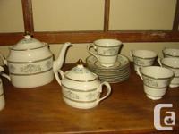 Full Set of Minton Henley China. 61 Piece Set. Circa