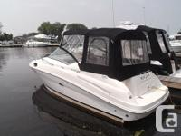 The Sea Ray 240 Sundancer is a very popular model. Full
