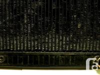 GM original radiator universal application fit many