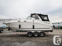 White Hull with Black Full Camper Canvas in Awesome