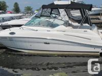 The 240 Sundancer is a grand step into Sea Ray's