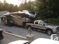 Big Sky by Montana fifth Wheel Camper for Sale. (2013