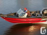 2016 Lund 1775 Crossover XSDressed up Ski and Fish Boat