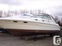 1996 Sea Ray 330 SundancerIt would be hard to find a