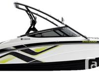 Fully-equipped for wake sports fun, Yamaha's 212X comes