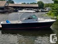 LOW HOURS! The Element 270 is built for big water! It