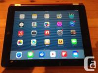 I am selling my 3rd generation 64gb retina wifi iPad.