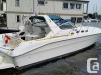 Description/Condition 1995 Sea Ray 400 Express Cruiser,
