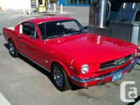 . 1965 Mustang fastback 2 +2, 4bbl, 289 c.i.d Electric