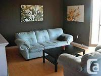 Great totally furnished one bedroom with (level screen