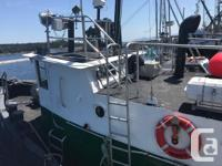 Ocean Warrior 66' Steel Tug Fresh Out Of Six Year