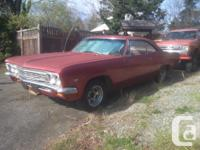 Make Chevrolet Model Impala SS Year 1966 Colour red on