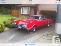 Make Oldsmobile Model Cutlass Year 1966 Colour Red 1966