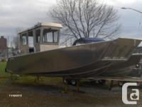 2016 Stanley 26 Pulsecraft Closed Cabin. This boat