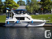 The 3608 is a very popular aft-cabin cruiser with an