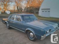 1967 Cutlass Supreme with only 33,700 miles. ALL