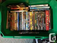 Great movies in great condition with original cases and