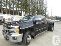 Description: This 2015 all new 3500HD crew Dually