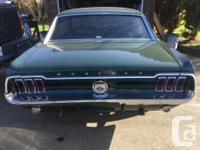 Make Ford Model Mustang Colour Green Trans Automatic