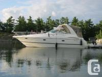 This 2000 Cruisers Yachts 3672 is priced to sell.