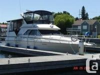 SUPREME CONDITION FRESH WATER SEA RAY WITH FLY BRIDGE