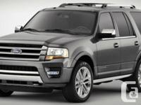Description: This 2016 Ford Expedition Limited will