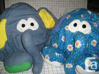 BEAN BAG ELEPHANT CHAIR FOR KIDS OUTER SHELL IN FLANNEL