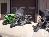 2008 HONDA VTX 1300TYou want a bike for the city, but