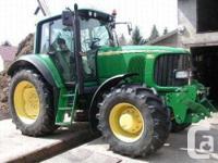 Model : 6520 yr : 2007 Tractor condition : Exellent