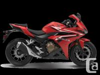 The CBR500R is the sporty member of the 500 line, with