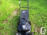 For sale a Craftsman 7.25 HP lawnmower. Used only for 2