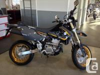 New DRZ400SM .The DR-Z400SM welcomes you to the