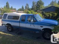 Make Ford Model F-250 Year 1994 Colour Blue kms 247550