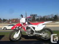 Honda Demo Bike - A couple of scratches but the price