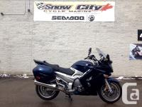 Like new YAMAHA FJR 1300 with lots of upgrades. Heated