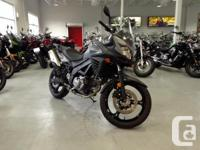 Vstrom 650The spirit of adventure beckons you to new
