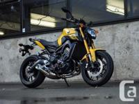 . THE ULTIMATE TRIPLE THREAT. The FZ-09 combines a
