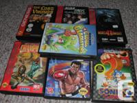 includes everything in photo all games are complete