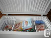 Frigidaire chest freezer approx. 7 cubic foot. This